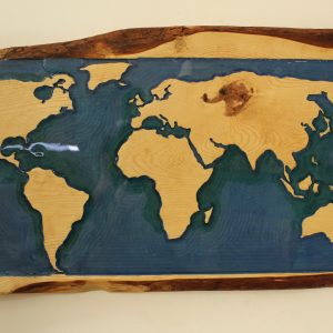 Blue Ocean World Map