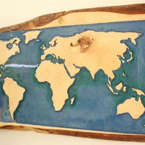 Blue Ocean World Map