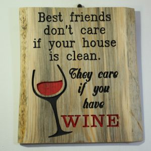 Best friends just want Wine