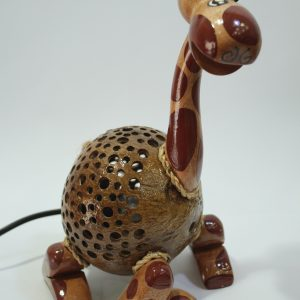 Giraffe Coconut Lamp