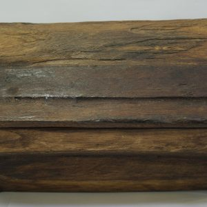 Rustic Wooden Box (XL) -Dark Brown